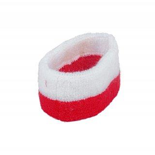 Opaska na głowę kibica Biało-Czerwona