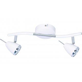 Lampa listwa Latte 2 biały ADRILUX