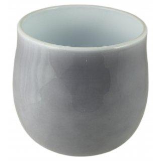 Osłonka ceramiczna 13 cm szary lazur CERMAX