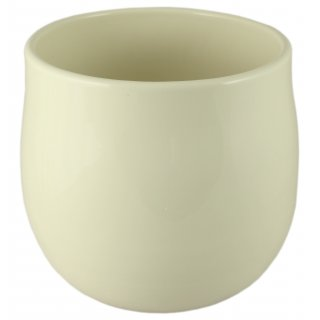Osłonka ceramiczna 17 cm kremowa CERMAX