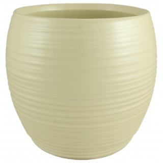 Osłonka ceramiczna 15 cm perłowa CERMAX