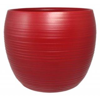 Osłonka ceramiczna 17 cm czerwony mat CERMAX