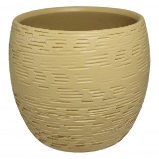 Osłonka ceramiczna 15 cm piaskowa CERMAX