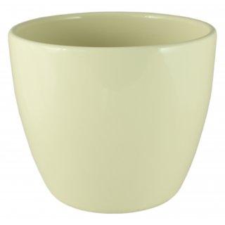 Osłonka ceramiczna 11 cm kremowa CERMAX