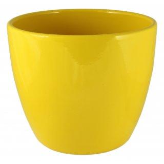 Osłonka ceramiczna 11 cm żółta CERMAX