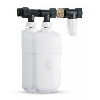 Przepływowy podgrzewacz wody z przyłączem 3,7 kW DAFI