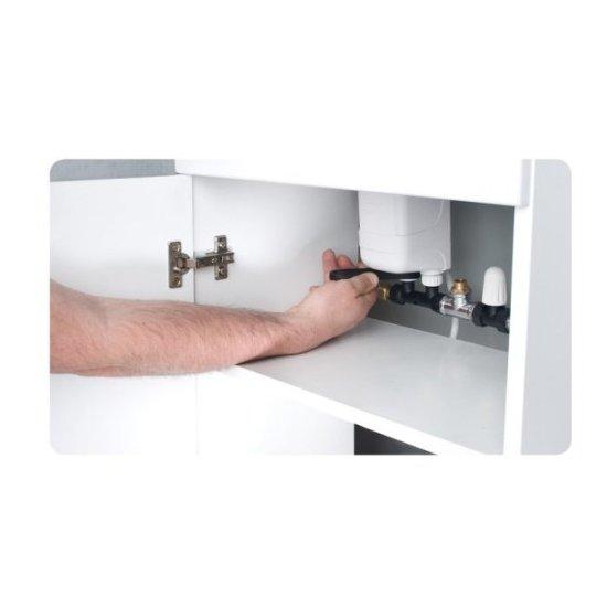 Przepływowy podgrzewacz wody z przyłączem 5,5 kW DAFI