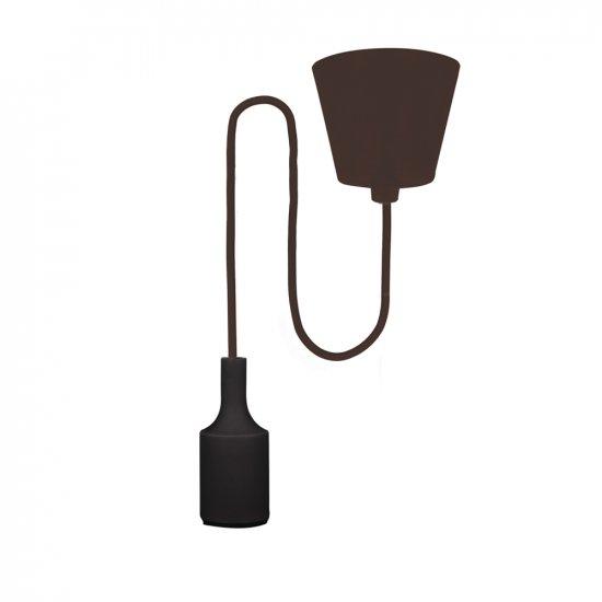 Lampa sufitowa Samba + LED 18 W 4000 K czarna FOREVER LIGHT