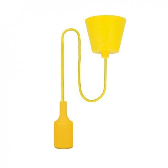 Lampa wisząca Samaba żółta 18 W LED TELFOCEONE