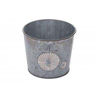 Osłonka metalowa na doniczkę 13 cm EM&EM