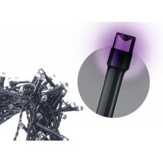 Lampki choinkowe łączone - łańcuch 100 LED 10m fiolet EMOS