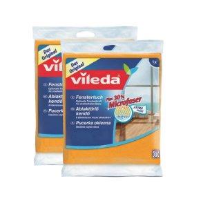 Zestaw 2 szt. pucerek okiennych z microfibry VILEDA