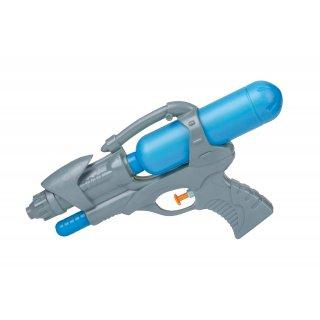 Pistolet na wodę 26 cm niebieski
