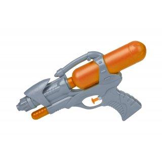 Pistolet na wodę 26 cm pomarańczowy