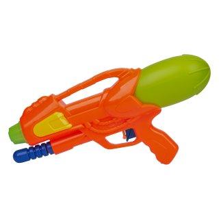 Pistolet na wodę 30 cm pomarańczowy