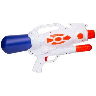 Pistolet na wodę 47 cm biało-niebieski