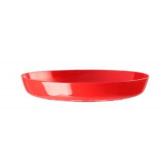 Podstawka Cristal 13 cm czerwony GALICJA