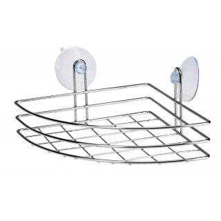 Półka łazienkowa narożna z przyssawkami GALICJA