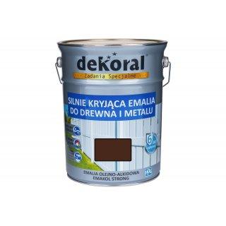 Emakol Strong brązowy ciemny 5l DEKORAL
