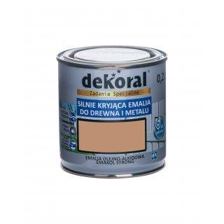 Emakol Strong kawowy jasny 0,2l DEKORAL