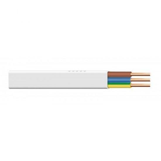Przewód YDYP 3x1,5 750V 100 m biały HD TELEFONIKA