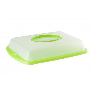 Pojemnik na ciasto zielony GALICJA