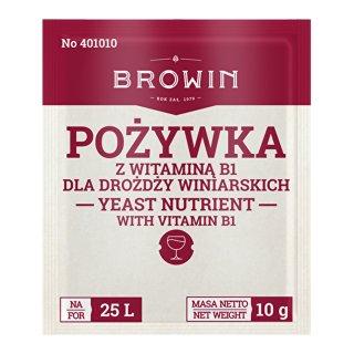 Pożywka do wina z witaminą B BROWIN