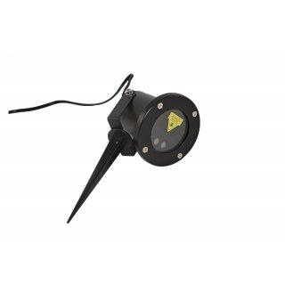 Projektor laserowy świąteczny wodoodporny  RGB 12w1
