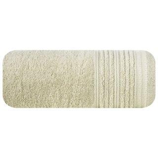 Ręcznik kąpielowy 140x70 beżowy bawełna EUROFIRANY