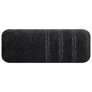 Ręcznik kąpielowy 140x70 czarny bawełna EUROFIRANY
