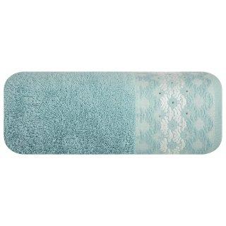 Ręcznik kąpielowy 140x70 miętowy bawełna EUROFIRANY