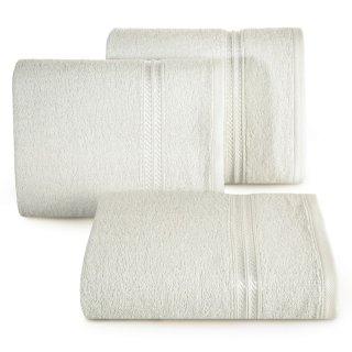 Ręcznik kąpielowy 140x70 kremowy bawełna EUROFIRANY