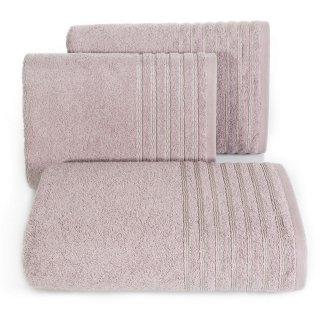 Ręcznik kąpielowy 140x70 różowy bawełna EUROFIRANY