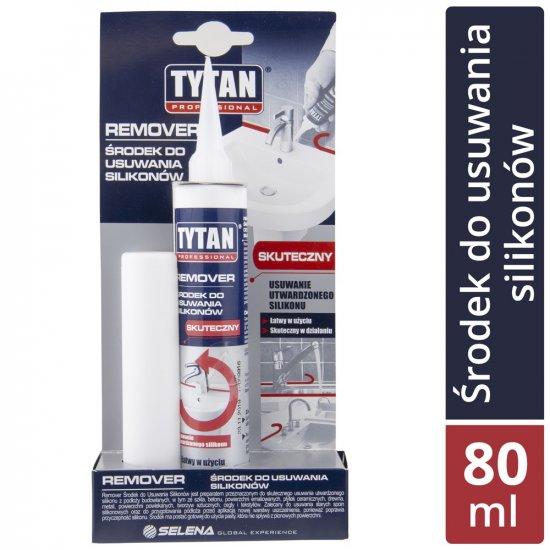 Środek do usuwania silikonów Remover 80 ml TYTAN