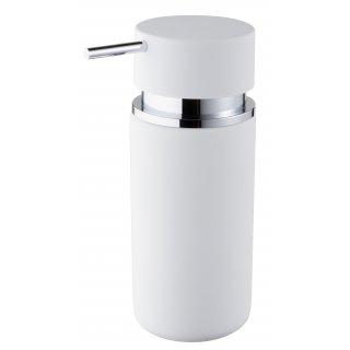 Dozownik mydła biały Round BISK