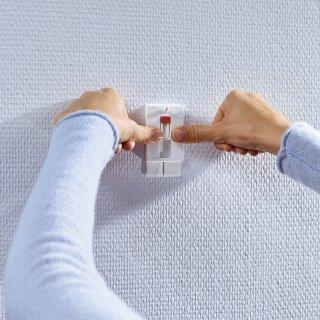 Gwóźdź samoprzylepny regulowany do tynku i tapet, 2 szt. do 2kg TESA