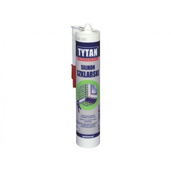 Silikon szklarski bezbarwny 310 ml TYTAN