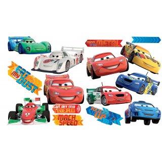 SPL162WD NAKLEJKI PŁASKIE W(45 X 65 CM) Disney Cars