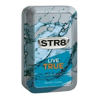 Woda toaletowa dla mężczyzn 100 ml Live True STR8