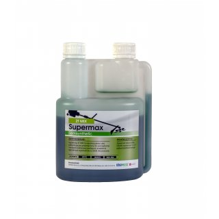 Olej do silników dwusuwowych Supermax 2T mix 1 L zielony