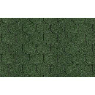 Gont bitumiczny Karpiówka zielona 3m2 opakowanie SCALA PLASTIC