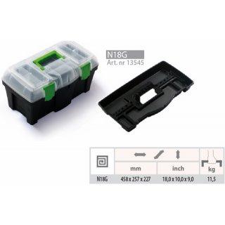 Skrzynka narzędziowa Green box 18 PROSPERPLAST