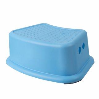 Antypoślizgowy stopień łazienkowy niebieski