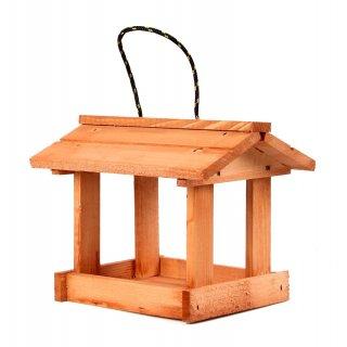 Karmnik dla ptaków mały drewniany TIN TOURS