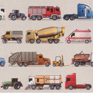 Tapeta papierowa cieżarówki Rasch 293906 POLAMI
