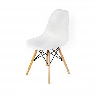 Krzesło skandynawskie Detroit białe TS INTERIOR