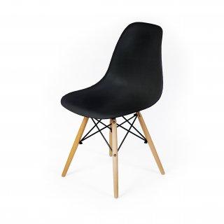 Krzesło skandynawskie Detroit czarne TS INTERIOR