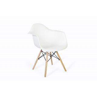 Krzesło skandynawskie Orlando białe TS INTERIOR