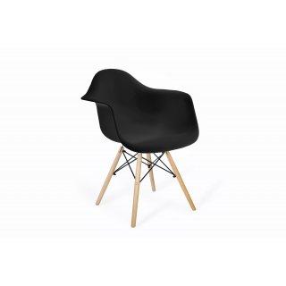 Krzesło skandynawskie Orlando czarne TS INTERIOR