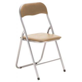 Krzesło składane Vico beż TS INTERIOR